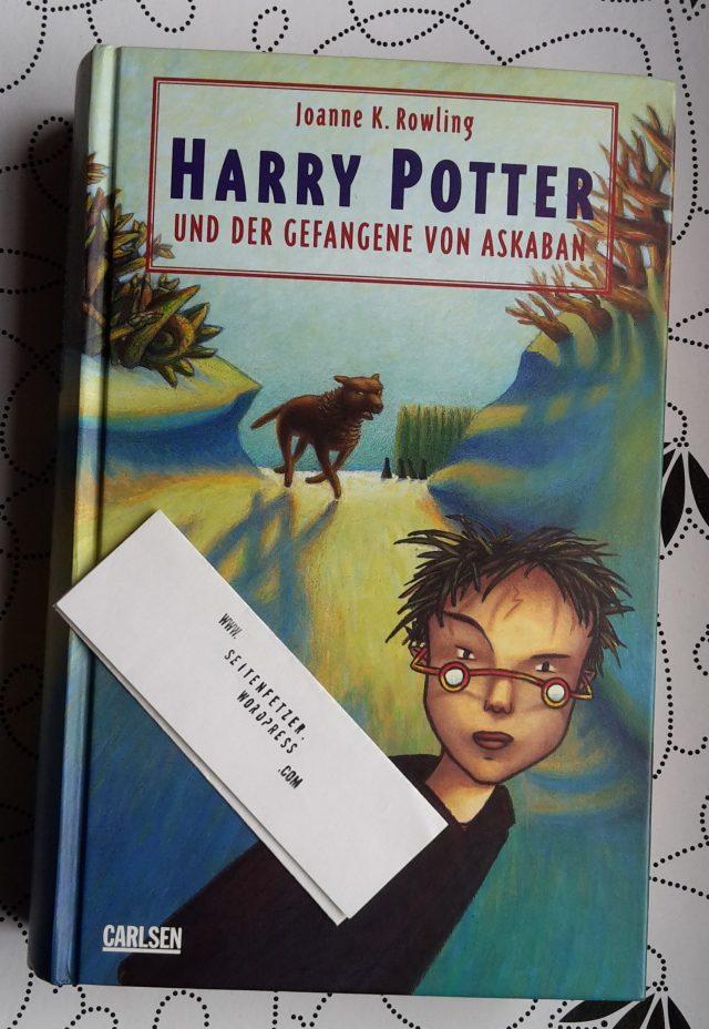 J K Rowling Harry Potter Und Der Gefangene Von Askaban Seitenfetzer